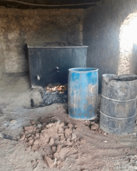 Around 300 suspected labs were found by researchers in Bakwa district alone