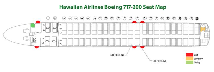 Boeing 717-200 Seat Map - Seating Chart FlyRadius