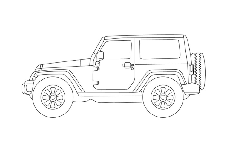 jeep wrangler camper