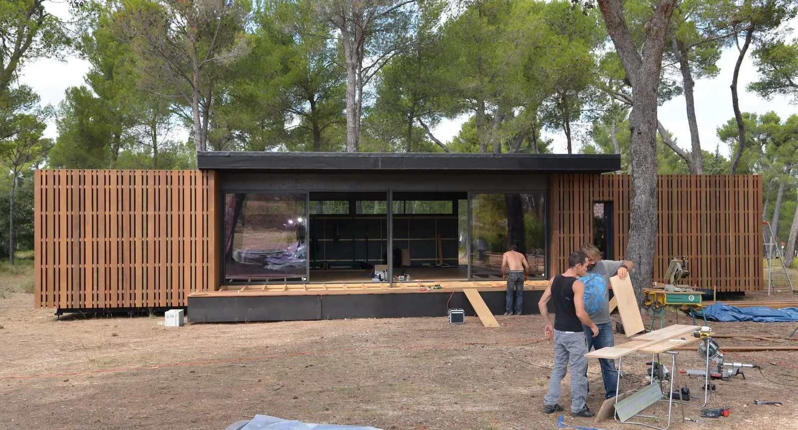 Fertighaus Container Popup House: Zum Do-it-yourself Haus In 4 Wochen