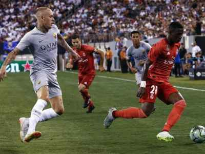 Real Madrid End US Tour With 2-1 Win Over Roma   Football News