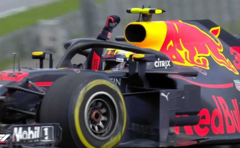 F1 Max Verstappen Wins Crash Ridden 2018 F1 Austrian Gp