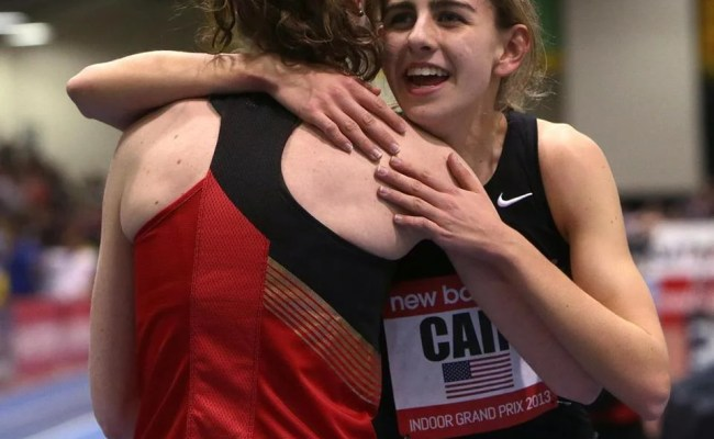 Track Phenom Mary Cain To Run At Reggie Lewis Center The Boston Globe