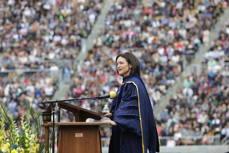 Sheryl Sandberg graduation speech It\u0027s the hard days that determine