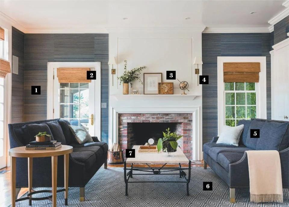 Designing an easy, elegant family room for empty nesters