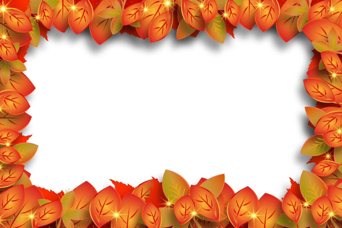Fall Leaves Clip Art Wallpaper Free Images Autumn Background Brown Celebration