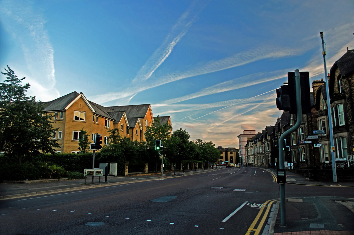 Urban Wallpaper Hd Free Images Architecture Sky Road Street Town City