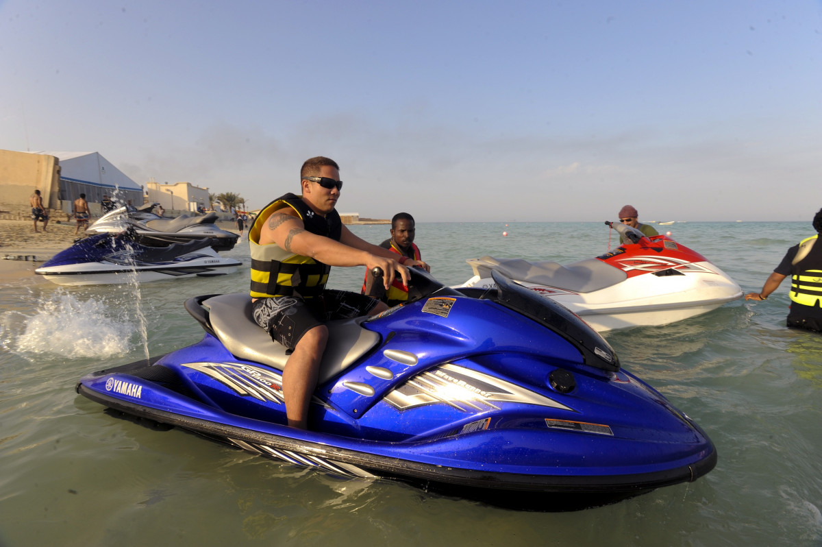 Gratis Jet Ski Free Images Man Sea Male Transportation Transport