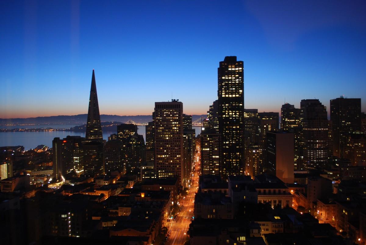 Usa Hd Wallpaper Download Free Images Horizon Sunset Skyline Morning Dawn