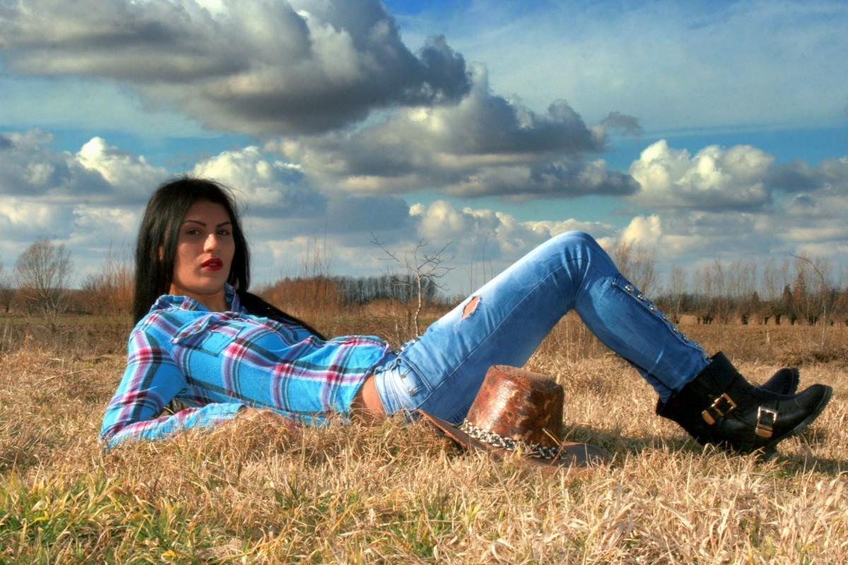 1920x1080 Wallpaper Girl Free Images Prairie Spring Autumn Cowgirl Season