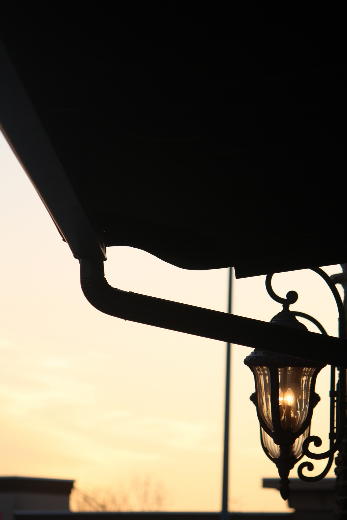 Indoor Street Light Lamp Free Images Night Window Glass Evening Reflection