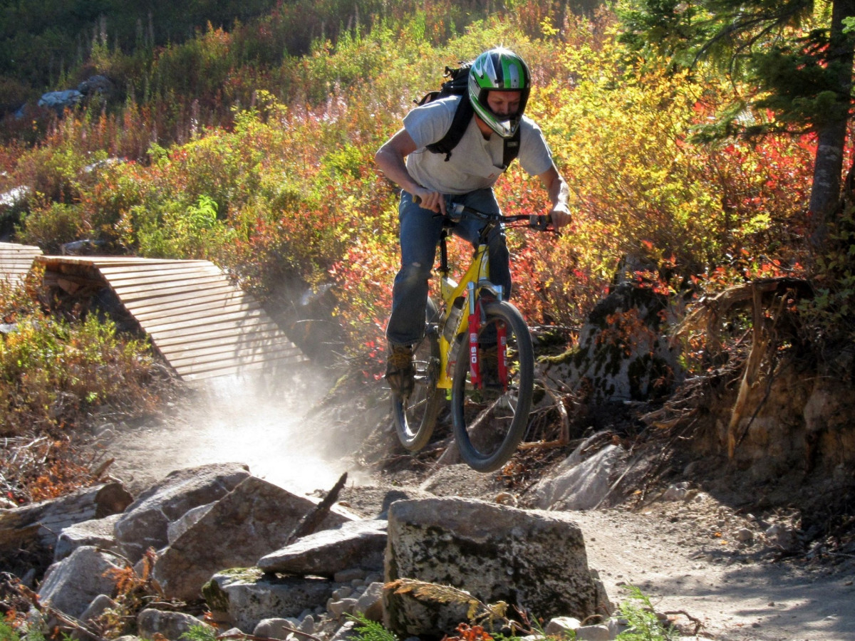 Fall Mountain Wallpaper Free Free Images Landscape Trail Adventure Bicycle
