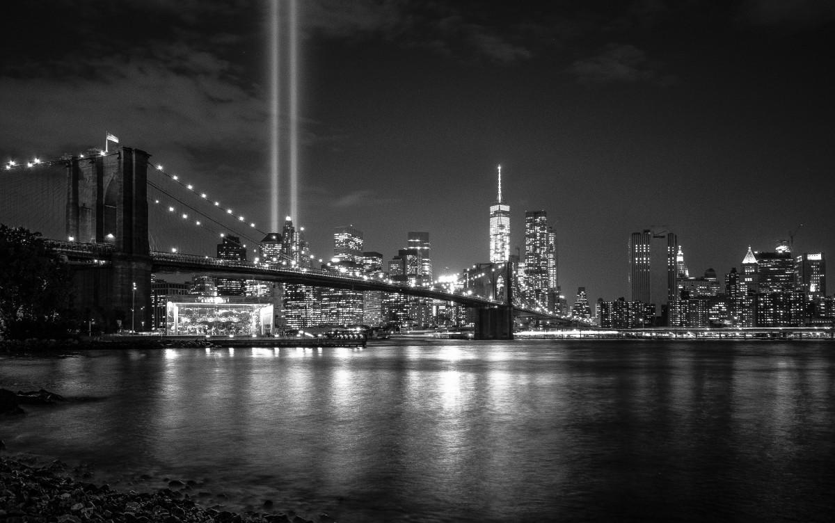 Brooklyn Bridge Wallpaper Black And White Images Gratuites Noir Et Blanc Horizon La Photographie