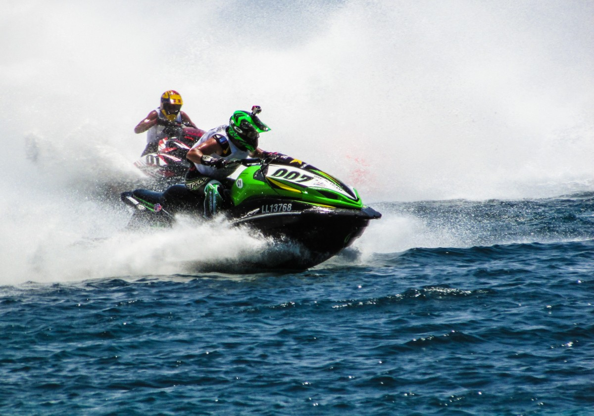 Gratis Jet Ski Free Images Man Beach Sea Summer Vacation Vehicle