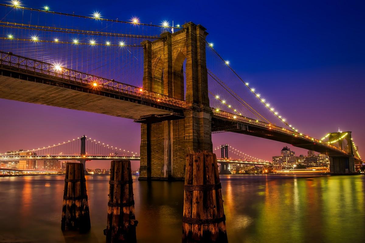 free images sunset bridge skyline dawn river cityscape dusk evening reflection tower