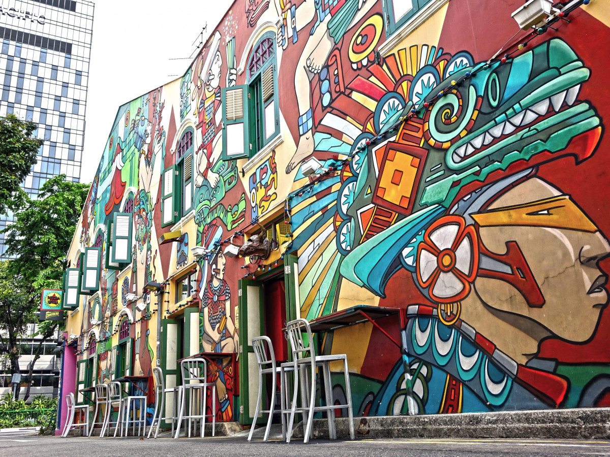 Spot Mural Design Free Images Creative City Urban Wall Color Artistic