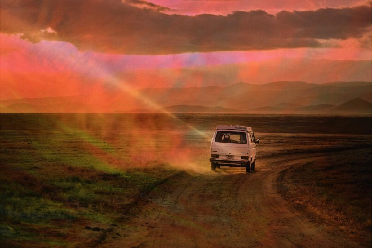 Car Sunset Wallpaper Free Images Landscape Sea Coast Path Pathway Sand