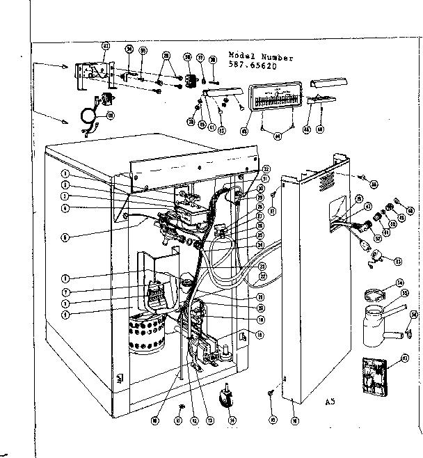 kenmore 110 washing machine wiring diagram