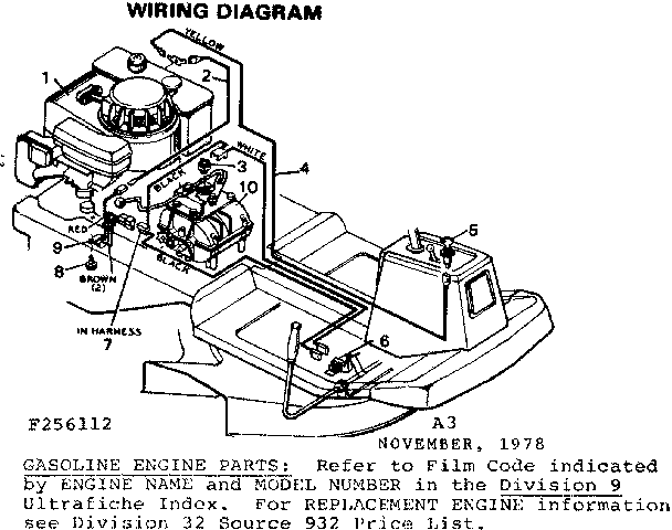 wiring diagram diagram parts list for model 502256181 craftsman