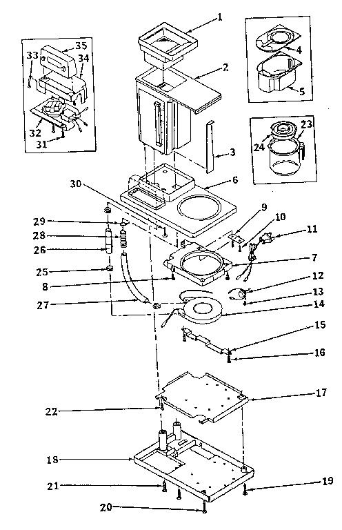 roper 29 electric dryer model red4440vq1