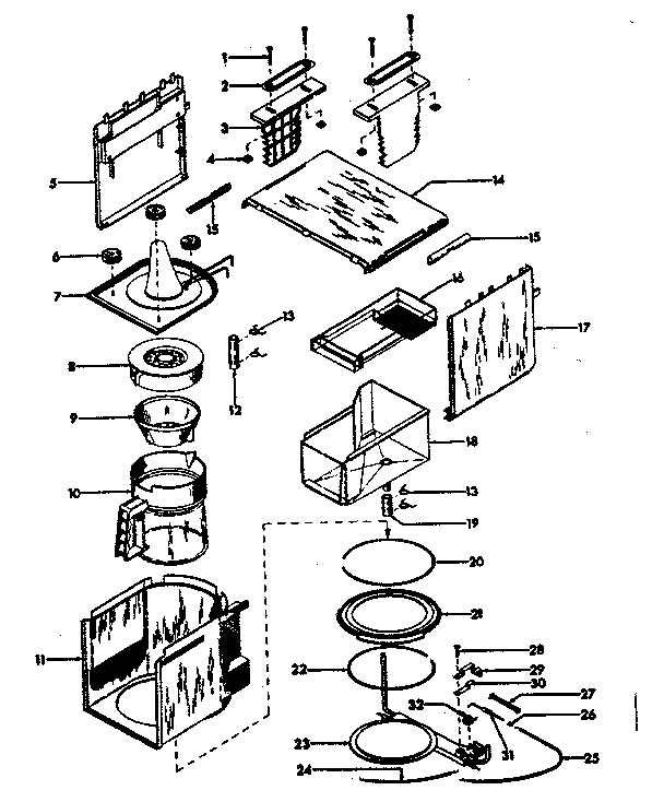 keurig cup holder replacement part together with keurig parts diagram