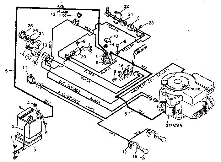 simplicity lawn mower fuel filter