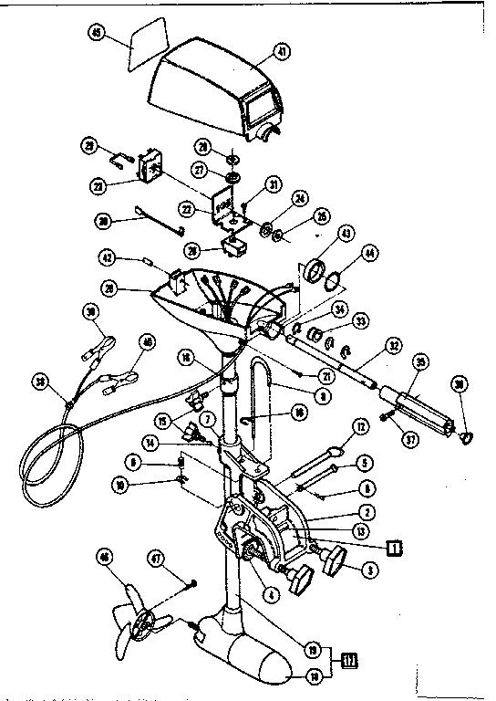 mariner trolling motor wiring diagram
