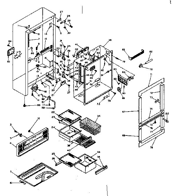 kenmore wiring diagrams 106 series