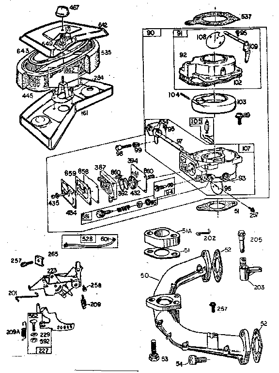 18 hp kohler engine diagram adjusting v
