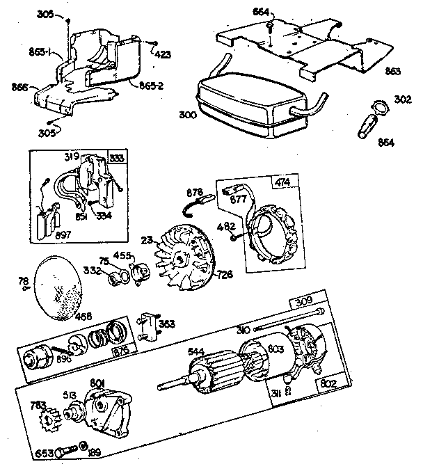 13 hp briggs and stratton wiring diagram