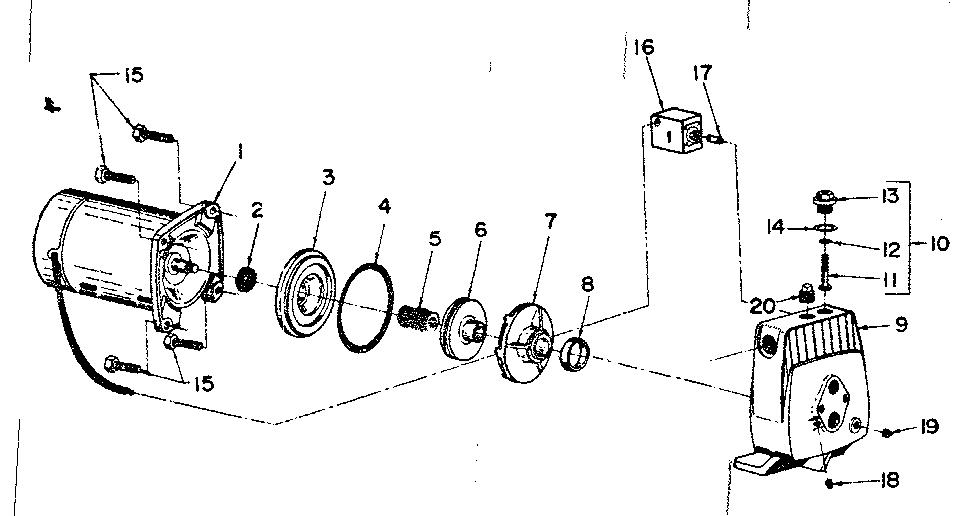 water pump wiring diagram for sta rite