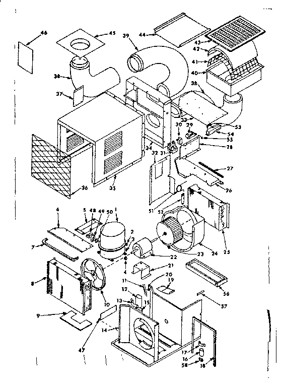 diagram of camper roof ac