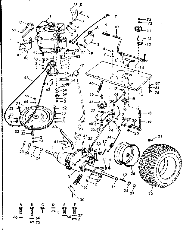 craftsman tractor wiring diagram 917273220