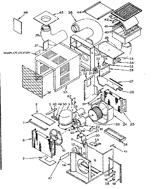kenmore window air conditioner wiring diagram