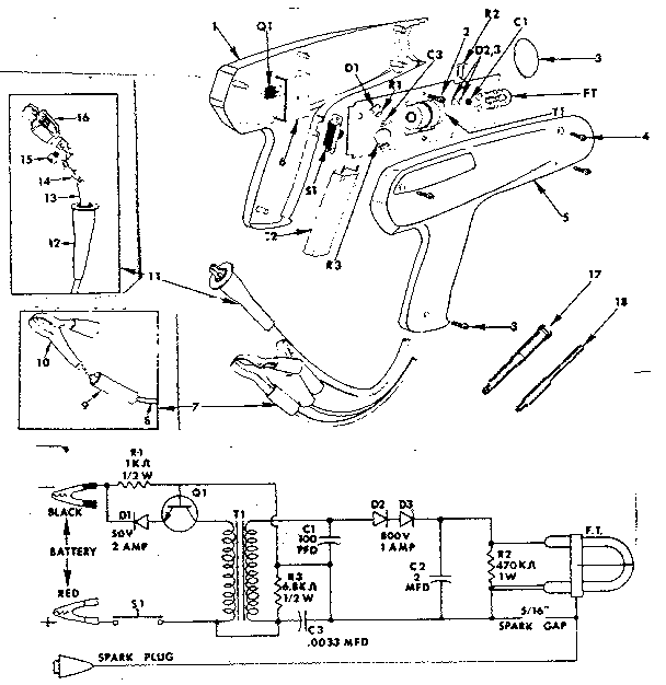 building a 12v led stroboscope circuit