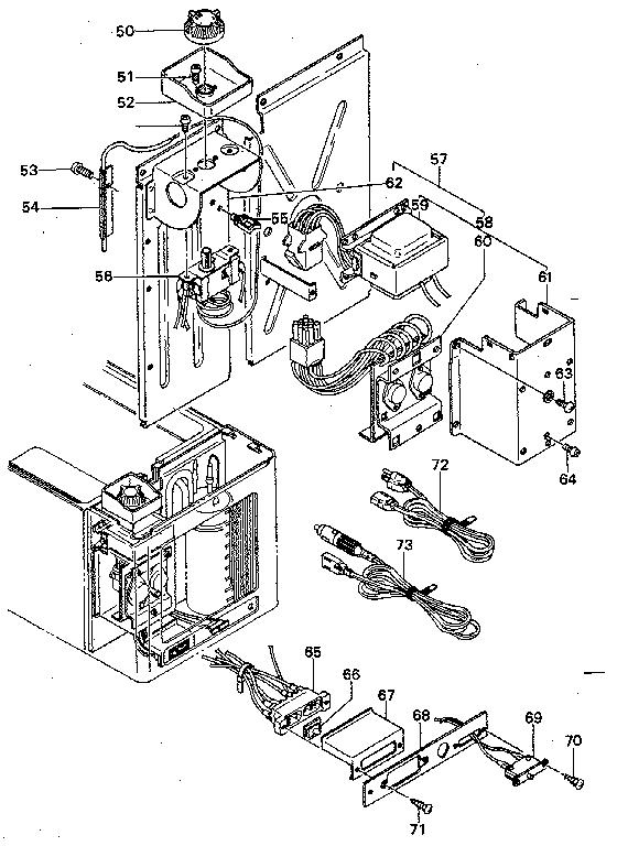 norcold ac dc refrigerator parts