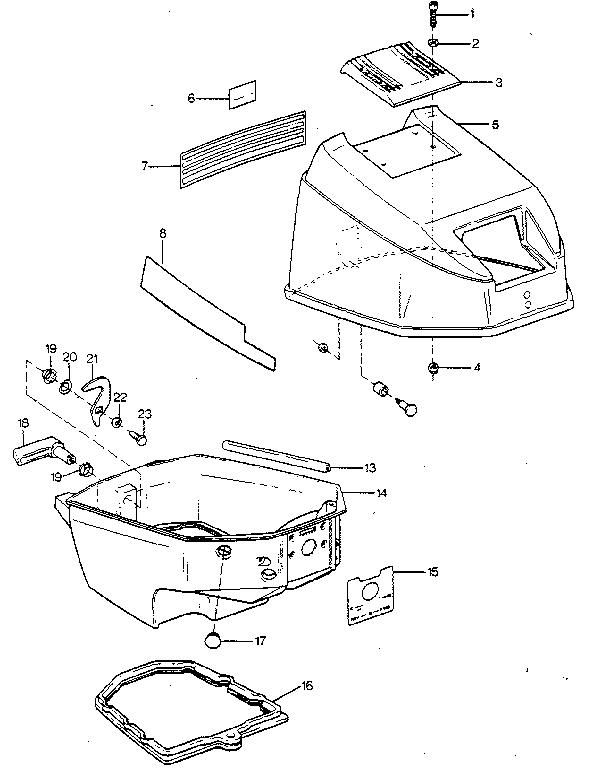 craftsman tiller Motor diagram