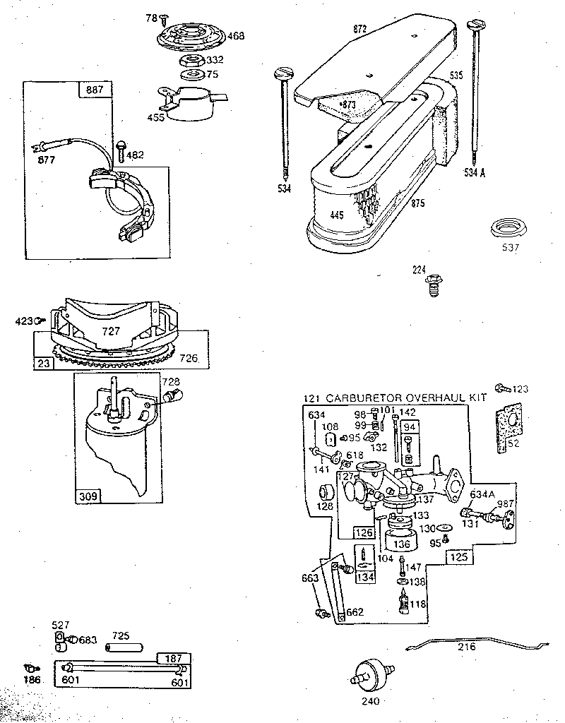 11 hp briggs carburetor diagram wiring schematic