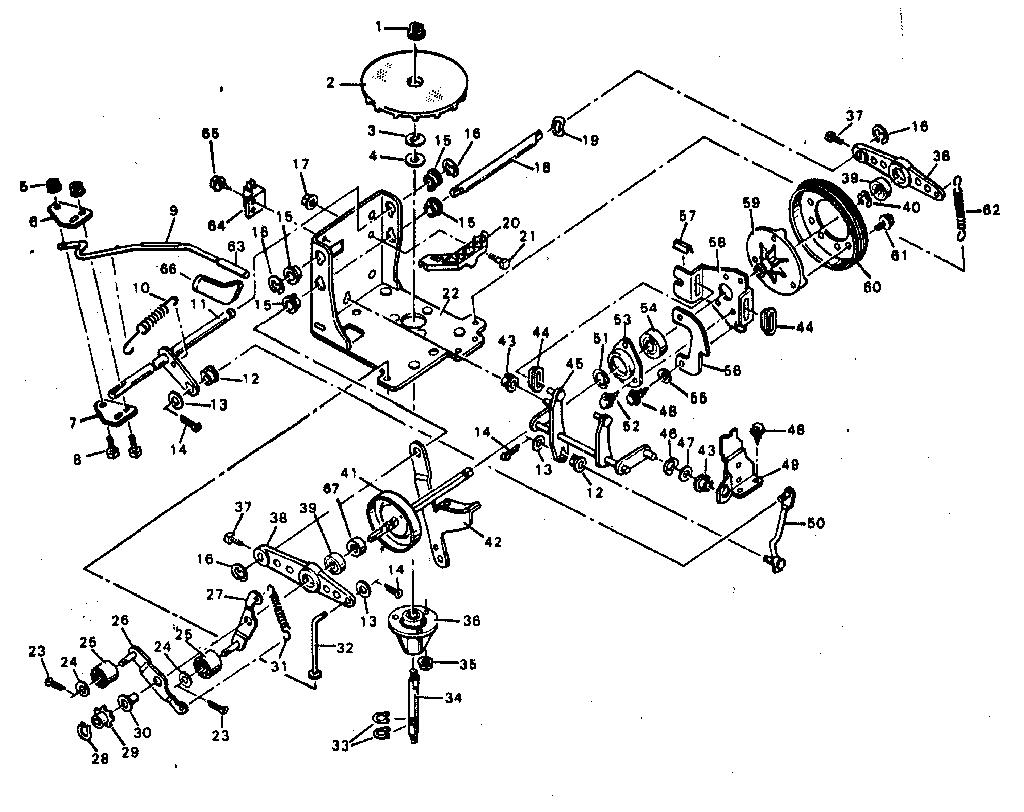 craftsman riding lawn mower pictorial wiring diagram parts model