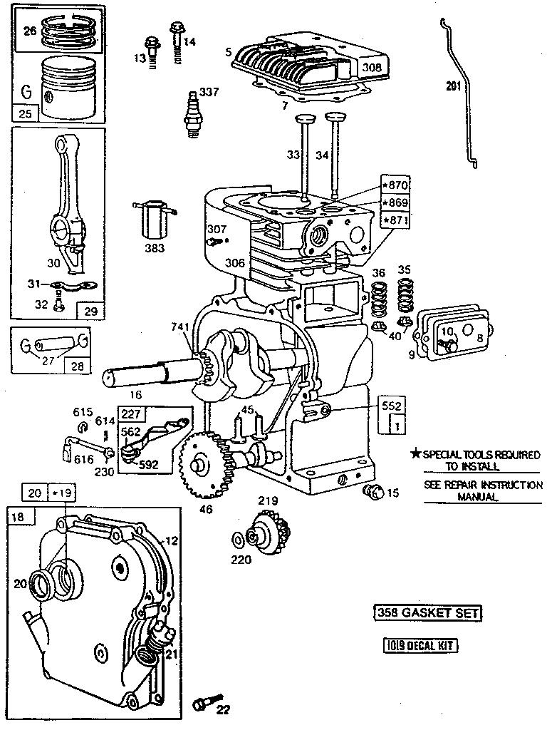 21 hp briggs carburetor diagram