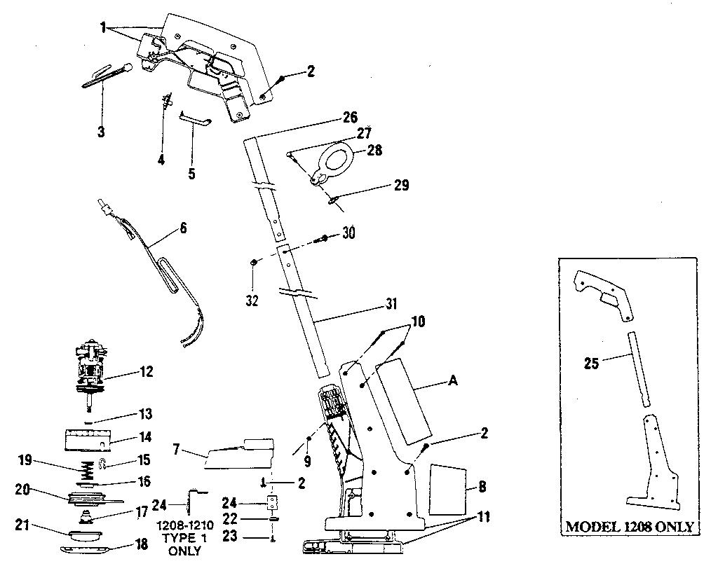 poulan pro fuel line diagram also poulan pro trimmer parts diagram