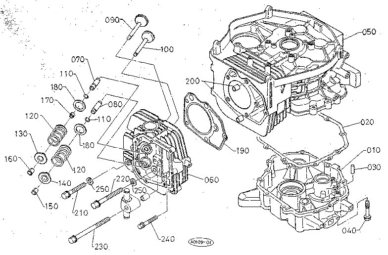 kubota mower deck parts diagram