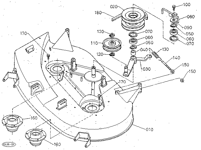 kubota zg20 belt diagram