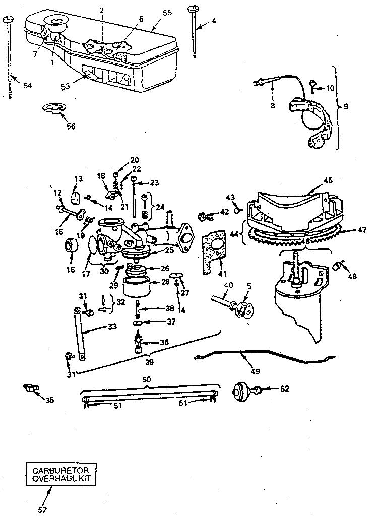 briggs and stratton carburetor linkage diagram carb