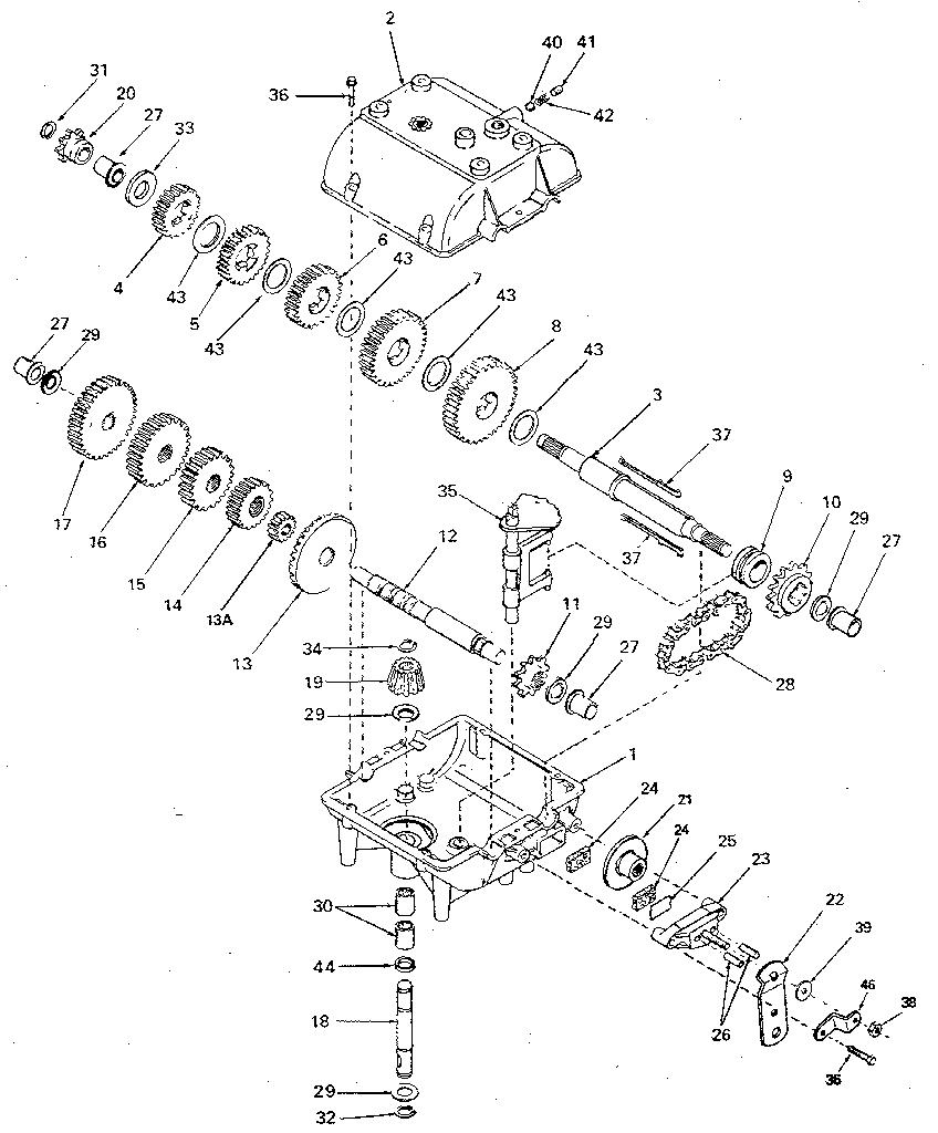 murray riding lawn mower diagram