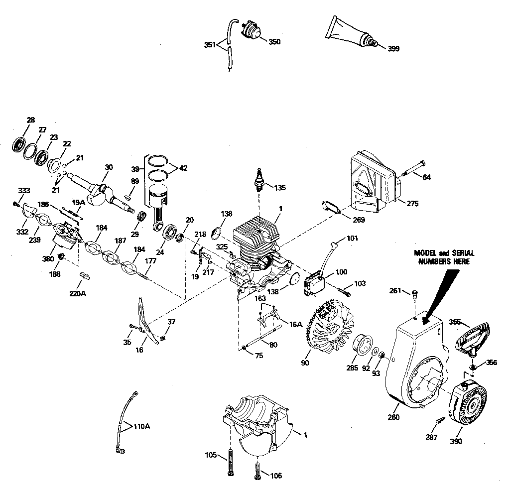 tecumseh engine wiring diagram ohh50 68054d