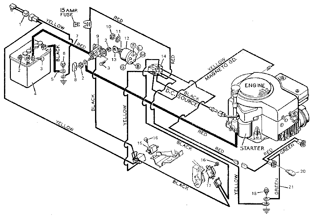 22 hp briggs and stratton wiring diagram