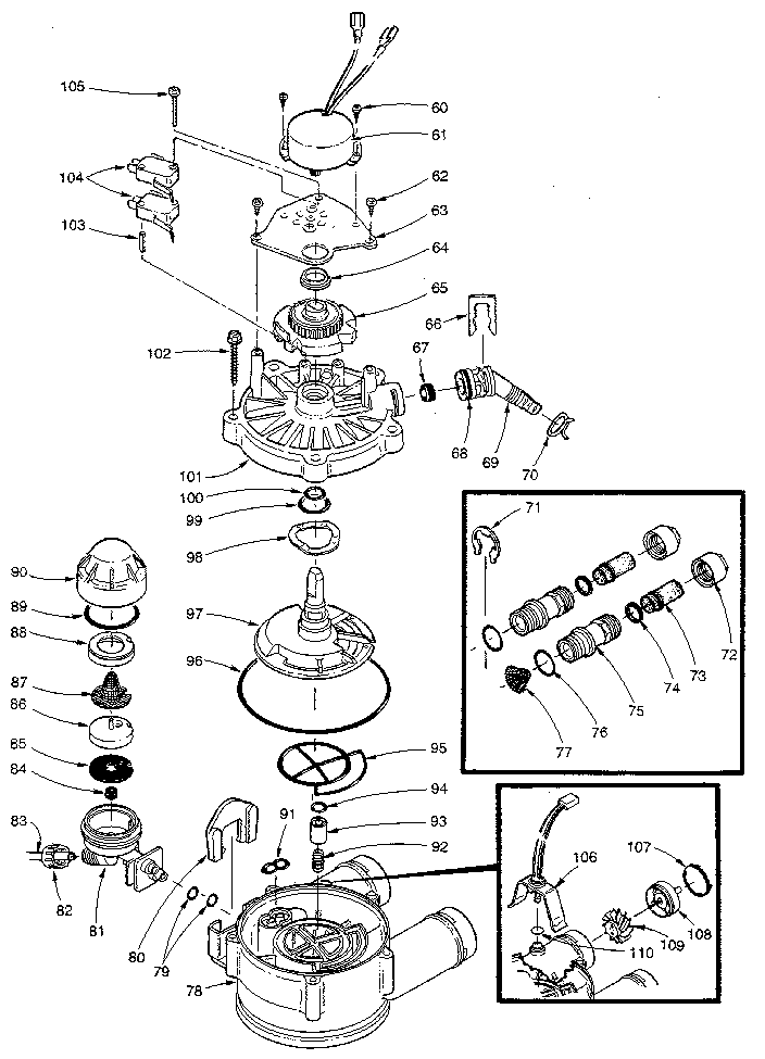 whirlpool water softener wiring diagram
