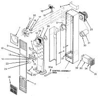 WILLIAMS WALL FURNACE Parts | Model 550dvinat | Sears ...
