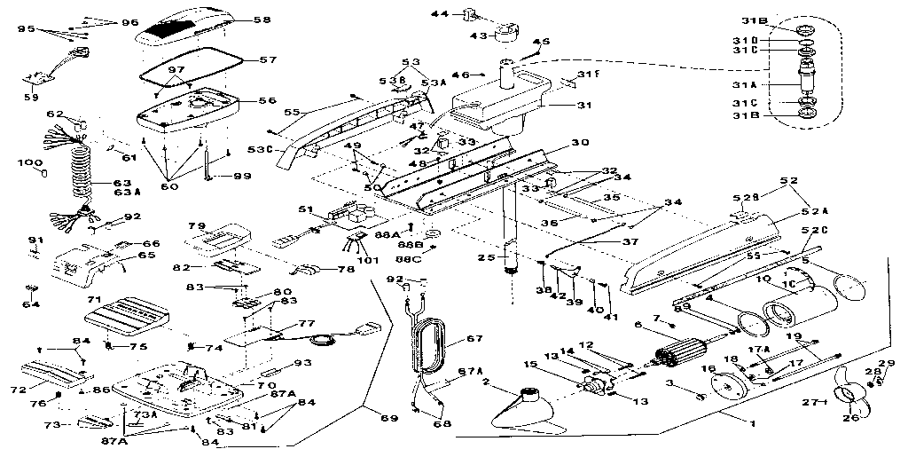minn kota turbo auto pilot electric fishing motor unit parts model